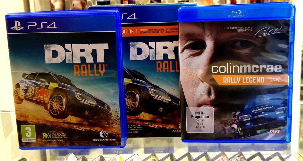 EL DIRT RALLY LEGEND EDITION PS4
