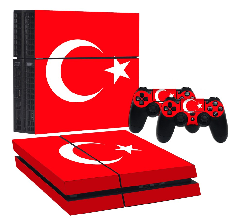 Turk Bayragi Ps4 Normal Sticker