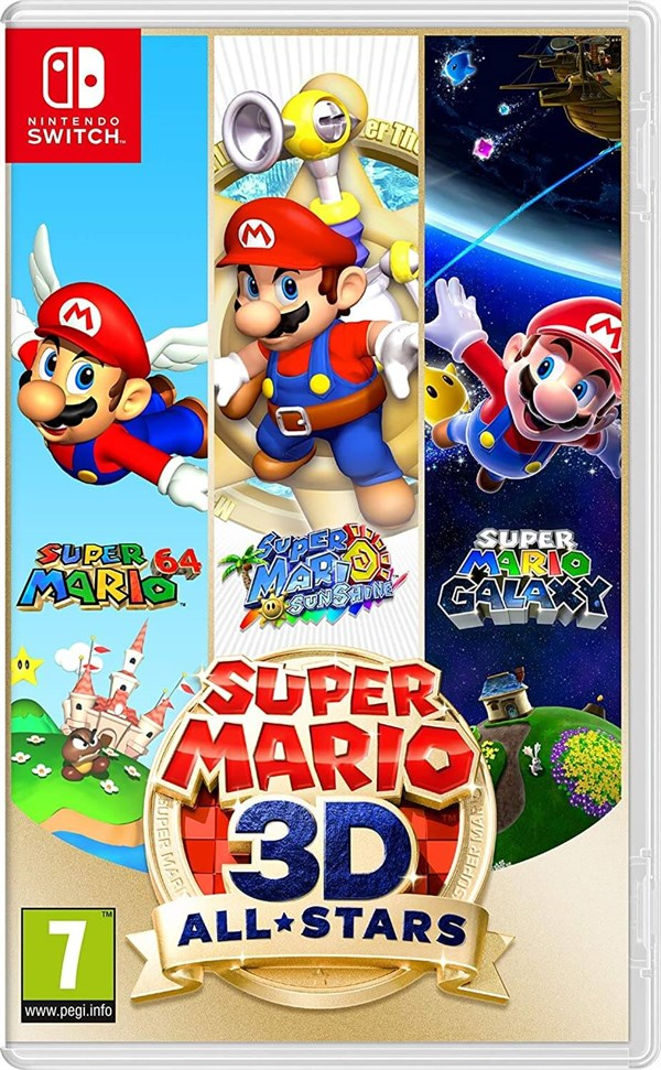 Nintendo Switch OyunSuper Mario 3D All-Stars Nintendo Switch Oyunu konsolkulubu.comSuper Mario 3D All-Stars Nintendo Switch Oyunu