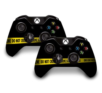 CRIME SCENE REVISITED XBOX ONE KOL STICKER
