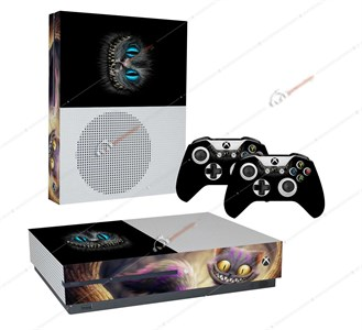 CHESHIRE GRIN XBOX ONE S STICKER