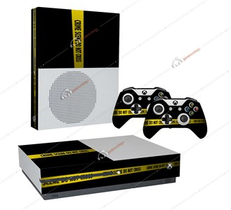 CRIME SCENE REVISITED XBOX ONE S STICKER