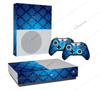 APOCALYPSE BLUE XBOX ONE S STICKER