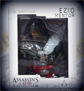 ASSASSINS CREED EZIO MENTOR FIGUR