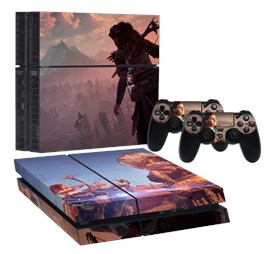 HORIZON ZERODAWN PS4 NORMAL STICKER