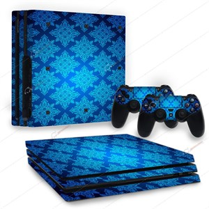 APOCALYPSE BLUE PS4 PRO STICKER