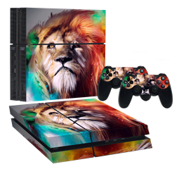 ASLAN PS4 FAT STICKER 008A