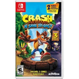 CRASH BANDICOOT N.SANE TRILOGY NINTENDO SWITCH 2.EL