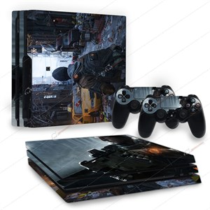 DIVISION PS4 PRO STICKER