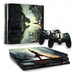 DRAGON AGE PS4 PRO STICKER