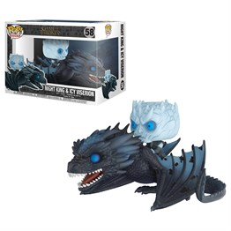 Funko Pop Figür - Game of Thrones Night King & Icy Viserion