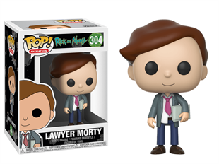 Funko Pop Figür - Rick and Morty Lawyer Morty