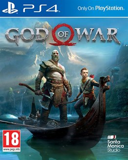God Of War 4 Sony Ps4 Oyunu