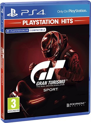 Gran Turismo Sport Sony PlayStation Hits Ps4 Oyun