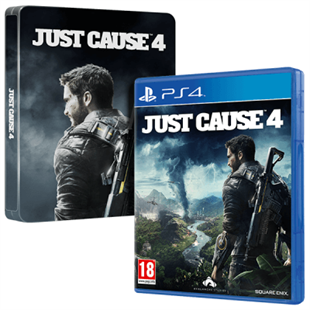 Just Cause 4 Steelbook Edition Sony Ps4 Oyunu