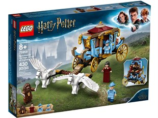 Lego Harry Potter Beauxbatons Carriage: Arrival at Hogwarts poudlard 75958