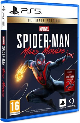 Marvels Spider Man Miles Morales Ultimate Edition PS5 Oyunu