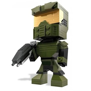 Mega Bloks Kubros Halo Master Chief Building Kit