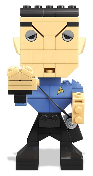 Mega Bloks Kubros Star Trek Spock Building Kit