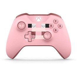 Microsoft Xbox One S Wireless Controller Minecraft Pıg