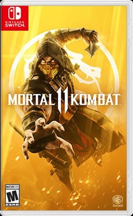 MORTAL KOMBAT 11 NINTENDO SWITCH 2.EL
