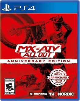 MX vs ATV ALL OUT ANNIVERSARY EDITION PS4 OYUN