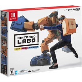 NINTENDO SWITCH LABO TOY-CON 02 ROBOT KIT