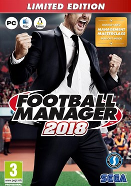 PC FOOTBALL MANAGER 2018 LIMITED EDITION FM 18