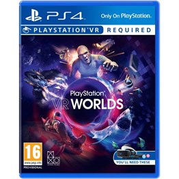 PLAYSTATION VR WORLDS PS4