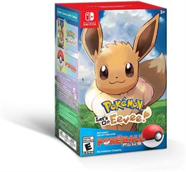 POKEMON LETS GO EEVEE POKEBALL PLUS NINTENDO SWITCH