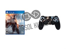 PS4 BATTLEFIELD 1 + DS4 STICKER HEDİYELİ