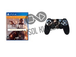 PS4 BF1 REVOLUTION + DS4 STICKER HEDİYELİ