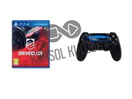 PS4 DRIVECLUB + DS4 STICKER HEDİYELİ