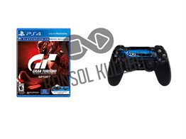 PS4 GRAN TURISMO + DS4 STICKER HEDİYELİ