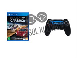 PS4 PROJECT CARS 2 + DS4 STICKER HEDİYELİ
