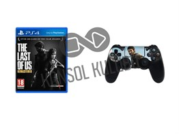 PS4 THE LAST OF US + DS4 STICKER HEDİYELİ