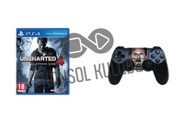 PS4 UNCHARTED 4 + DS4 STICKER HEDİYELİ