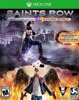 SAINTS ROW 4 XBOX ONE 2.EL
