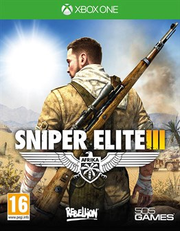 SNIPER ELITE 3  XBOX ONE 2.EL